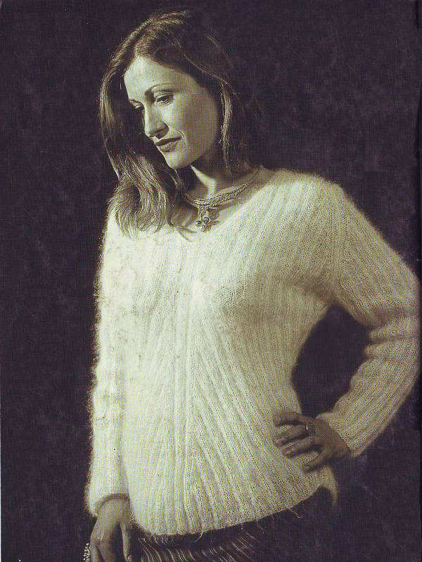 tricot laine et soie homme