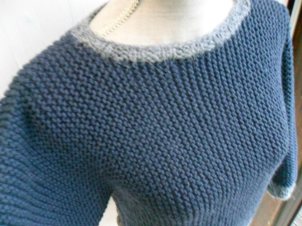 tricot laine mousse