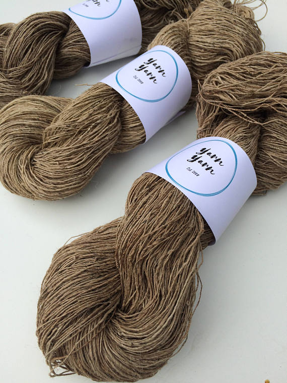 tricot laine ortie