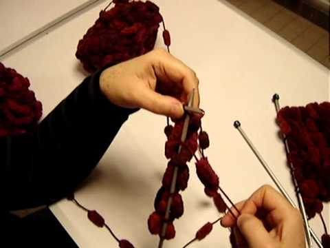tricot laine shaggy